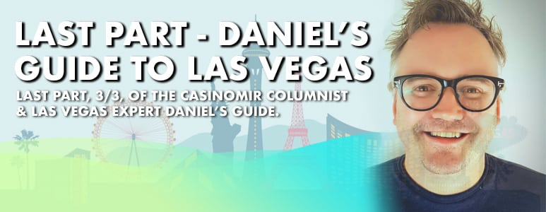 daniels guide to las vegas 3 of 3