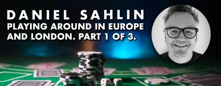 daniel sahlin playing in london