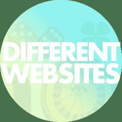 different casino websites